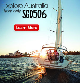 Explore Australia from only SGD506 Lean More