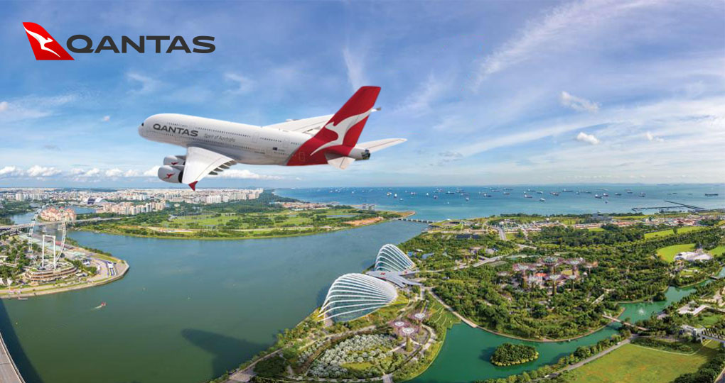FLY QANTAS special airfares available on Giamso